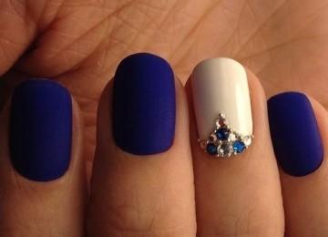 Матовый дизайн ногтей: идеи дизайна, фото