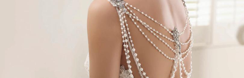 Свадебные платья с открытой спиной: пышные, прямые, облегающие
