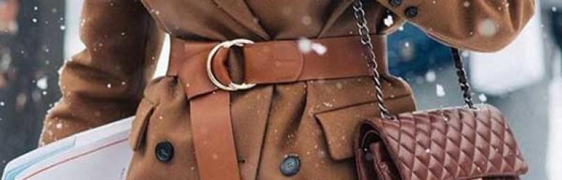 Коричневое женское пальто: с чем носить, фото