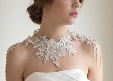 Свадебные платья с открытыми плечами и рукавами
