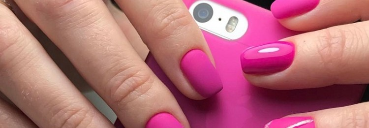 Малиновый дизайн ногтей: идеи и фото