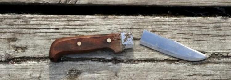 Сломался нож в руках: примета