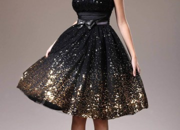 Можно ли в черном платье на свадьбу свидетельнице или подружке