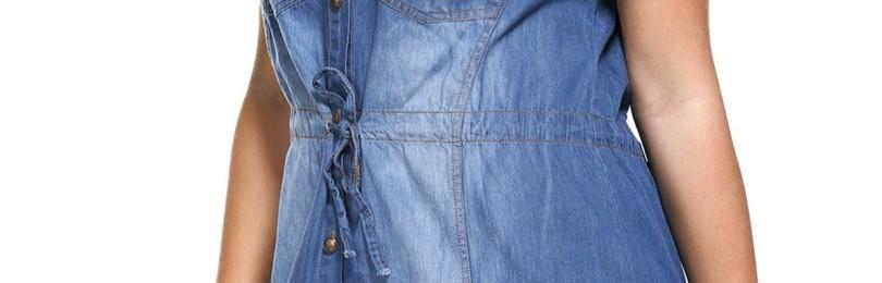 Женские джинсовые сарафаны для полных