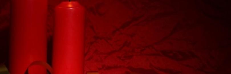 Приворот и заговор на красную свечу