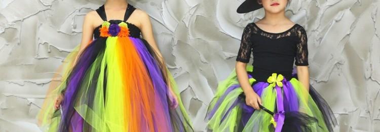 Костюм ведьмы на Хэллоуин: для девочки и для взрослого