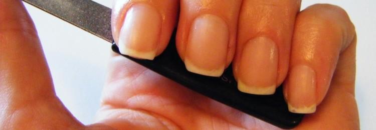 Как красиво подпилить ногти