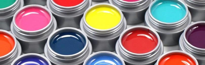 Гель-краска в баночках