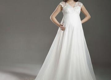 Платья для беременных на свадьбу: пышные, длинные, короткие, фото