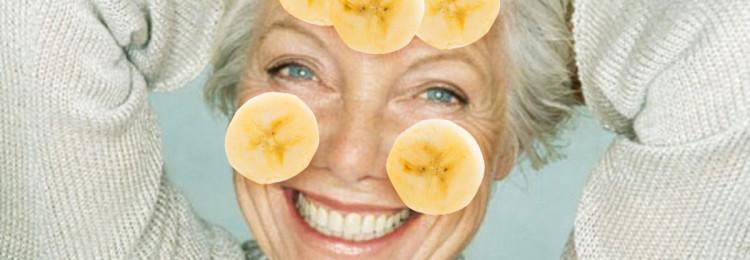 Маски для лица с бананом от морщин