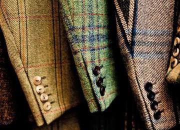 Женское пальто из твида