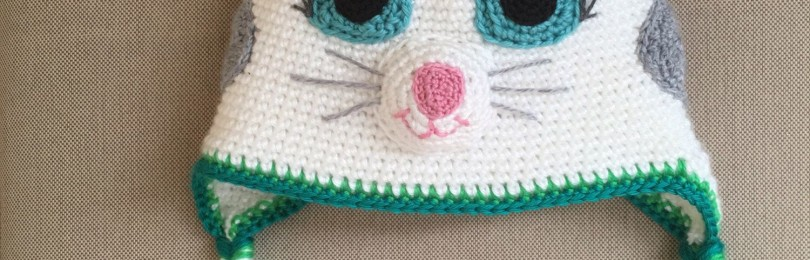 Шапка Кошка крючком для девочки: описание и мастер-классы