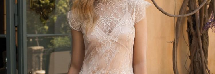 Свадебные платья в стиле рустик