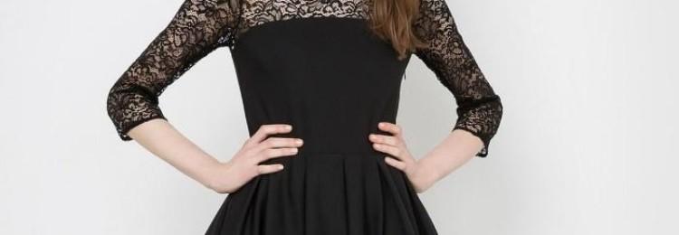 Черные платья на выпускной в 9 и 11 классе