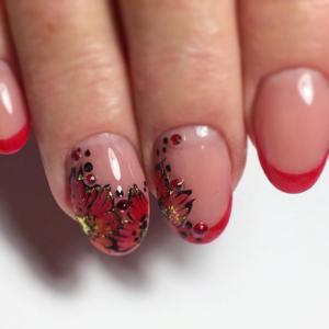 Дизайн Ногтей На Короткие Ногти Матовые
