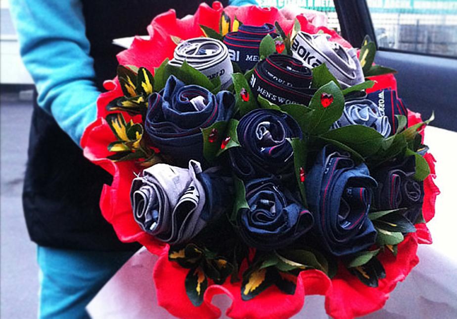 Бизнес букеты для мужчин на 23 февраля своими руками, тюльпаны розы владивостоке