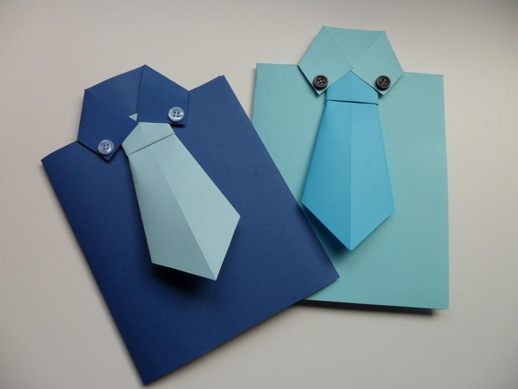 Открытка папе на день рождения своими руками оригами, поздравление жестяной