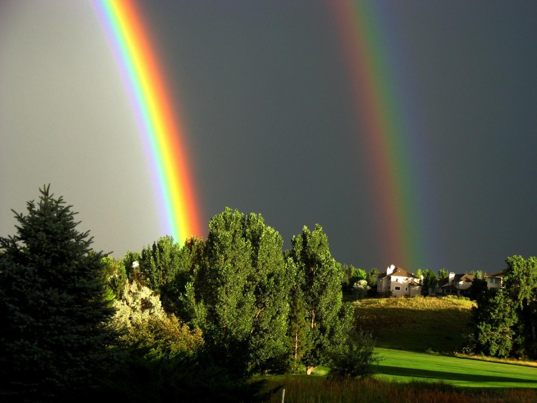 красивые виды радуги фото молодецкий можно